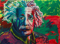 Albert Einstein by Eva Solbach