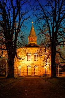 Schinkelkirche Bischmisheim No.2 von Bettina Dittmann