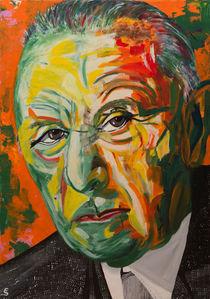 Konrad Adenauer by Eva Solbach