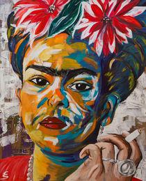 Frida Kahlo von Eva Solbach
