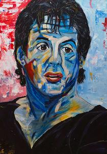 Sylvester Stallone von Eva Solbach