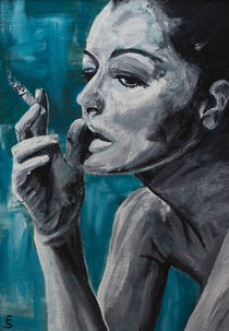 Romy Schneider von Eva Solbach
