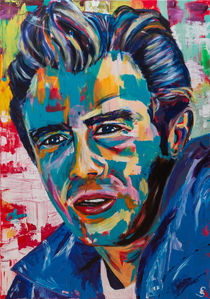 James Dean by Eva Solbach