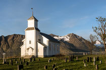 Gimsoy Kirche auf den Lofoten by Christoph  Ebeling