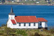 Sildpollnes Kirche auf den Lofoten by Christoph  Ebeling