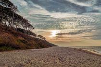 Abend am Strand  von Christoph  Ebeling