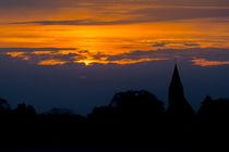 Sonnenuntergang bei Barth by Christoph  Ebeling