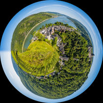 Bacharach (4) - Little Planet von Erhard Hess