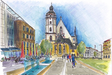 Leipzig-thomaskirche