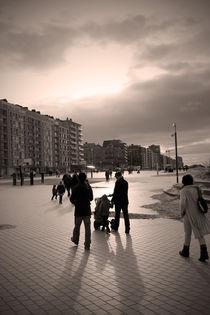 A walk at the Belgium's sea ... von Benjamin Gaie