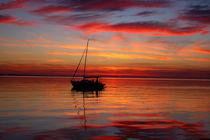 Abends auf dem See by galerie artgero