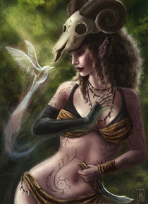 Elven Druid von Aranzazu Fernandez