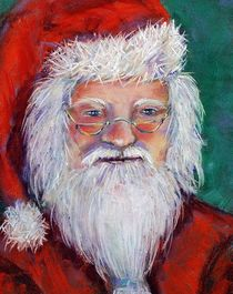 Santa by Martina Heinisch