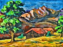 Berglandschaft by Norbert Hergl