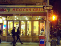 Mexican Grill by Miriam Cintron