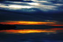 Sunset Wakeflield beach  by Elaine Hunter