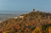 Der Drachenfels im Herbst von Frank Landsberg