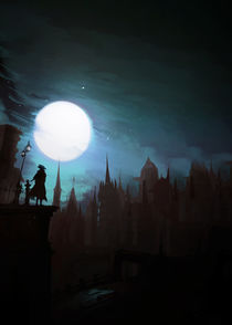 Bloodborne: The Night of the Hunt by succulentburger