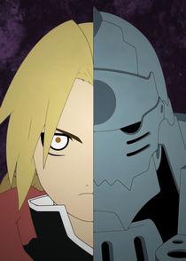 Fullmetal Alchemist: Edward and Alphonse by succulentburger