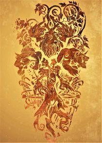 Warcraft: Druid Crest by succulentburger