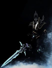 Arthas, the Lich King by succulentburger