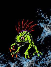 Murky, the Deep Terror by succulentburger