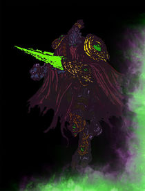 Zeratul, the Dark Prelate by succulentburger