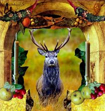 A Deer's Celebration von julia still