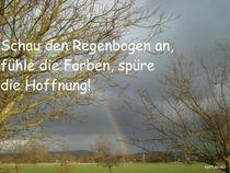 Hoffnung-Regenbogen by Andrea Köhler