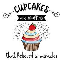cupcake with funny message von Claudia Balasoiu