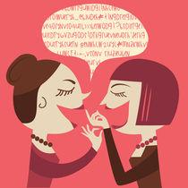 gossip woman by Claudia Balasoiu