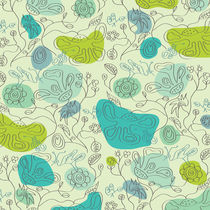 surreal floral background by Claudia Balasoiu