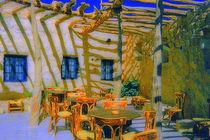 Cafe auf Korfu  von Christoph  Ebeling