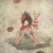 Melancholische Mohnblüte von Angie  Brenner