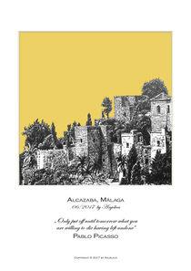 Alcazaba Málaga von Angie  Brenner