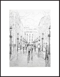 Málaga Calle Marques de Larios by Angie  Brenner