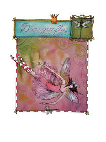 Dragonfly Passe-Partout by Angie  Brenner
