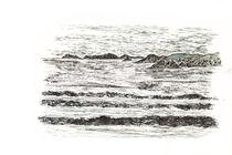Storm at Newgale 2 von Mark Rosser