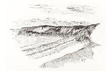 Storm At Newgale von Mark Rosser