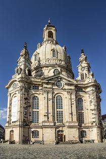 Frauenkirche in Dresden by Christoph  Ebeling