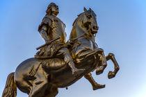 Goldener Reiter in Dresden von Christoph  Ebeling