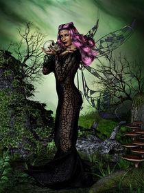 Dunkle Fee von fantasy-art-3d