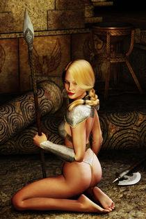 Kriegerin by fantasy-art-3d