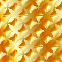 Abstract vector gold background  by Shawlin I