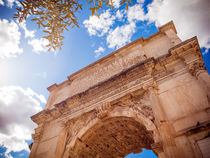 Forum Romanum: Arch of Titus by Miemo Penttinen