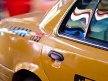 NYC taxi by Miemo Penttinen