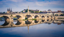 Bridge over Loire by Miemo Penttinen
