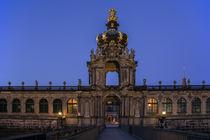 Dresdner Zwinger - Eingang zur Blauen Stunde von Christoph  Ebeling