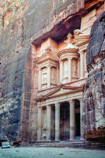 Khazne al-Firaun in Petra, Jordanien von Christoph  Ebeling