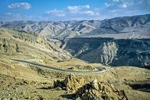 Königsstrasse bei Petra, Jordanien von Christoph  Ebeling